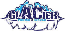Glacier cooling and heating